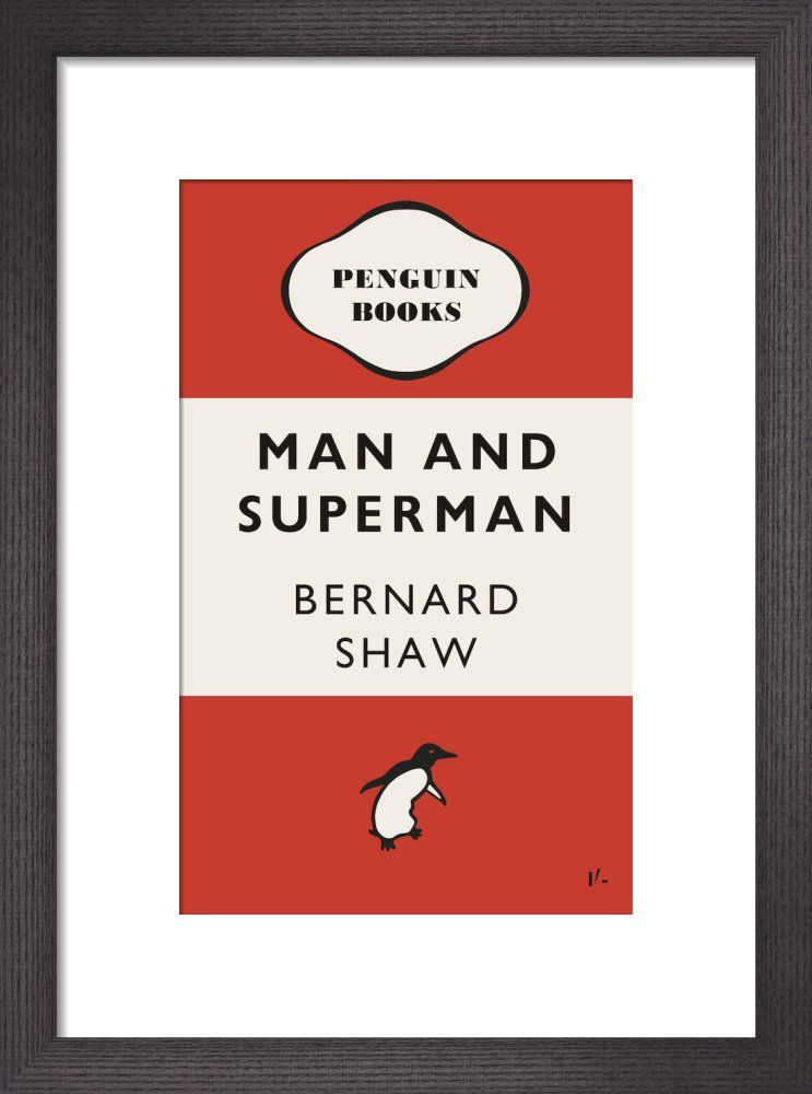 Man and Superman by Penguin Books