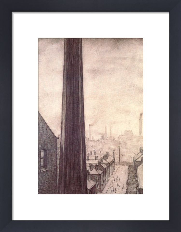 A View From The Window Of The Royal Technical College, Salford, 1924 by L.S. Lowry