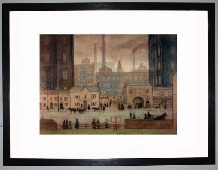 Coming From The Mill, c.1917-18 by L.S. Lowry