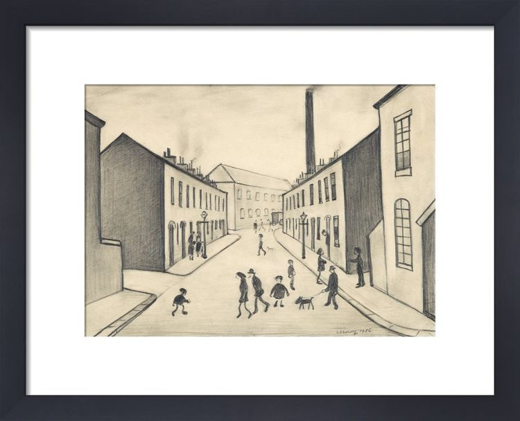 North James Henry Street, Salford, 1956 by L.S. Lowry