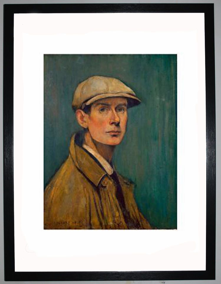 Self Portrait, 1925 by L.S. Lowry