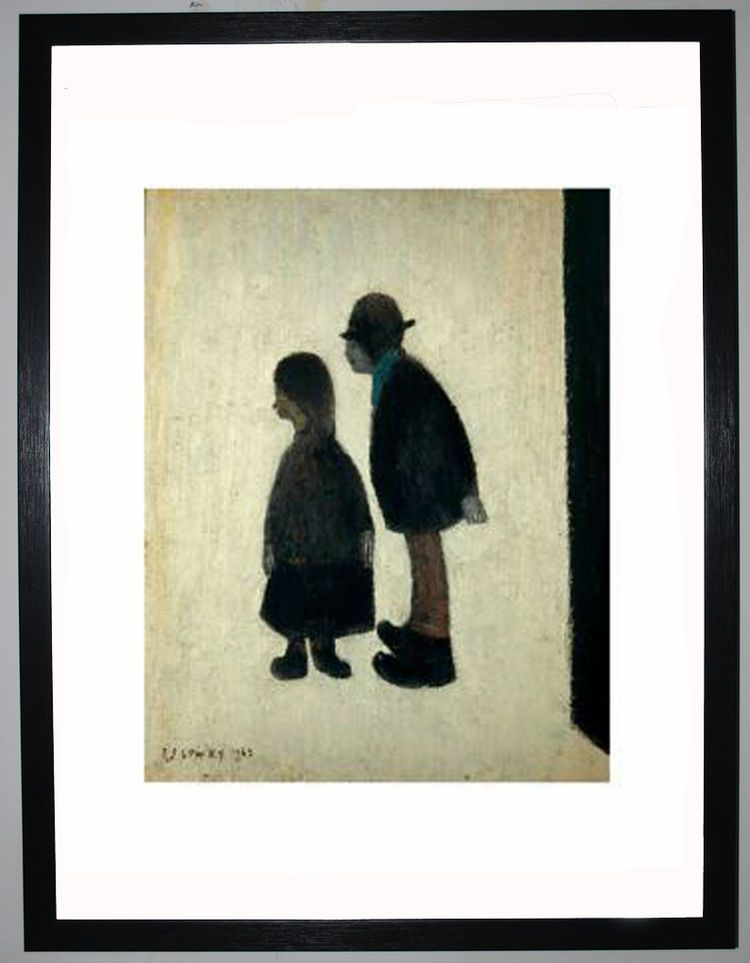 Two People, 1962 by L.S. Lowry