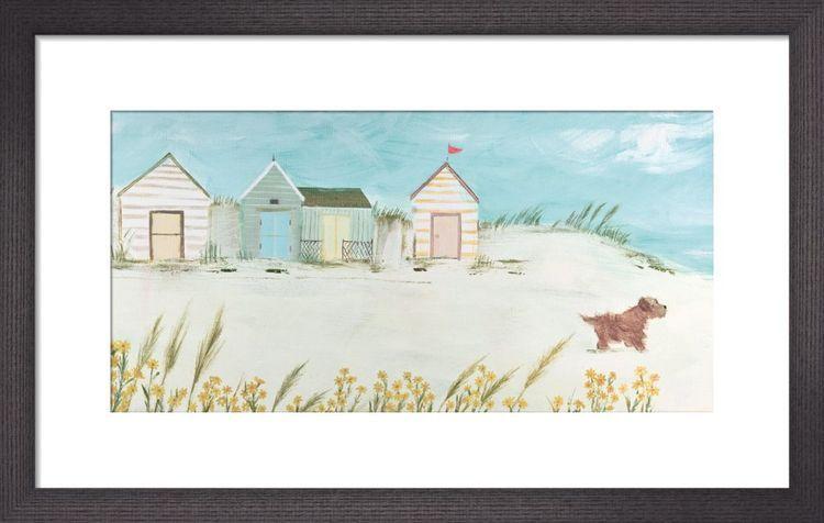 Windswept Art Print by Hannah Cole
