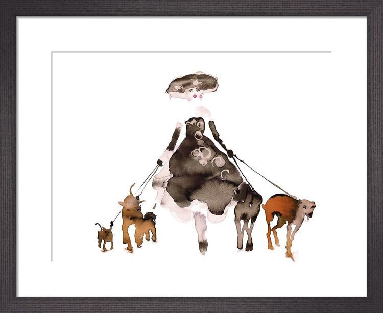 What to Wear When Walking the Dogs 2 by Bridget Davies