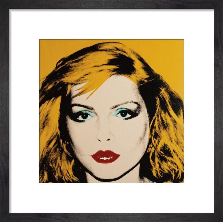 Debbie Harry, 1980 Art print by Andy Warhol