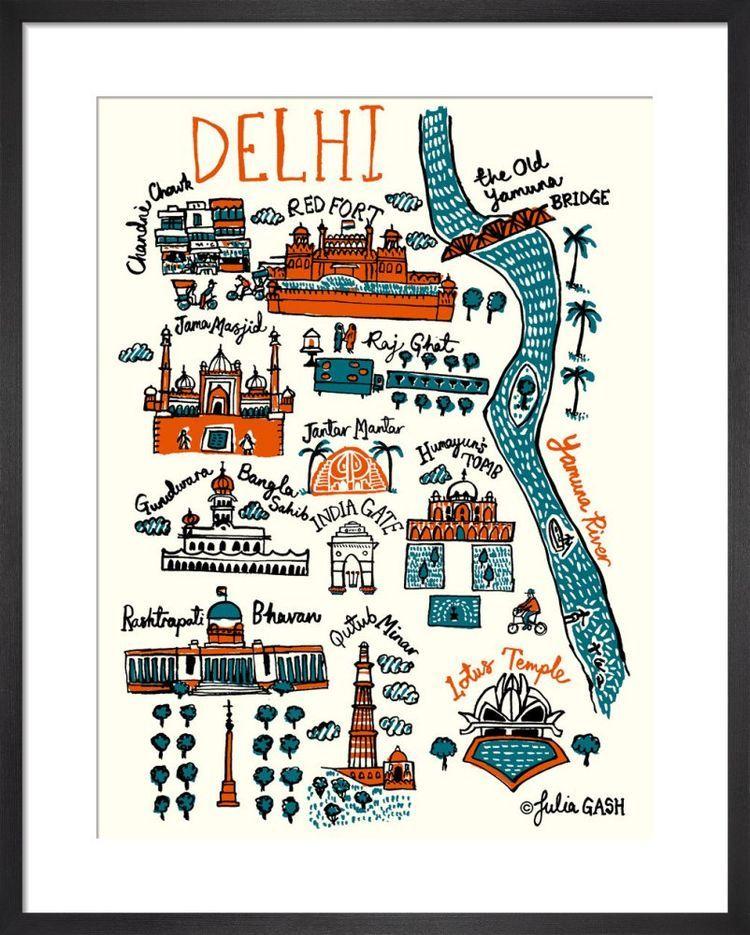 Dehli Cityscape by Julia Gash