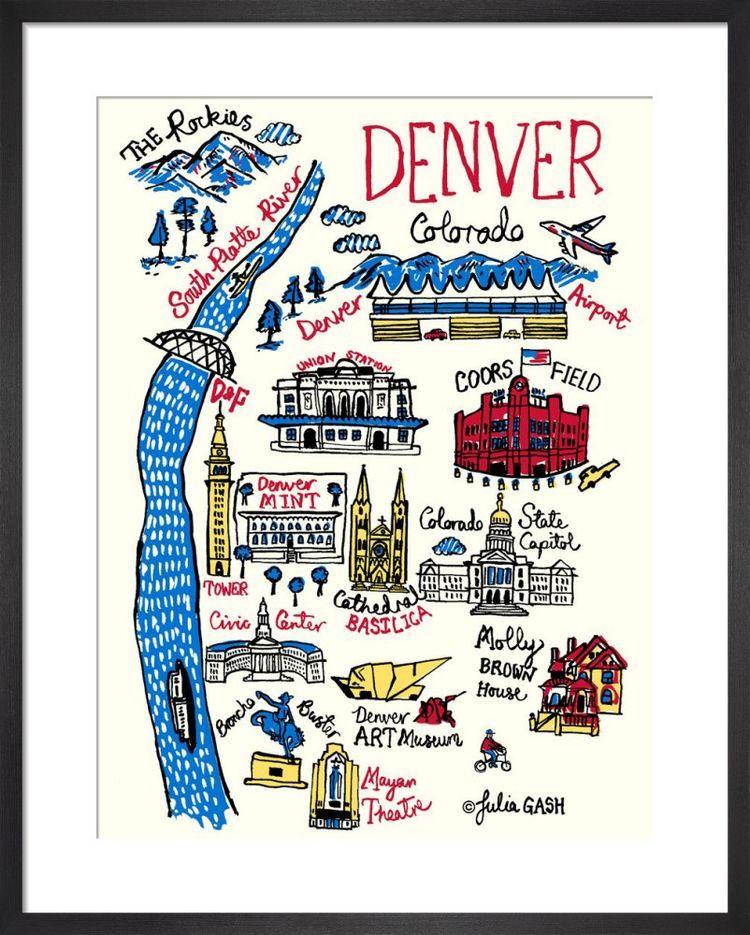 Denver Cityscape by Julia Gash