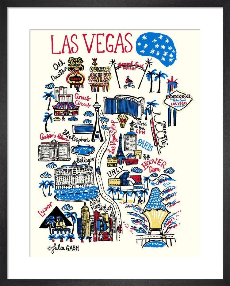 Las Vegas Cityscape by Julia Gash
