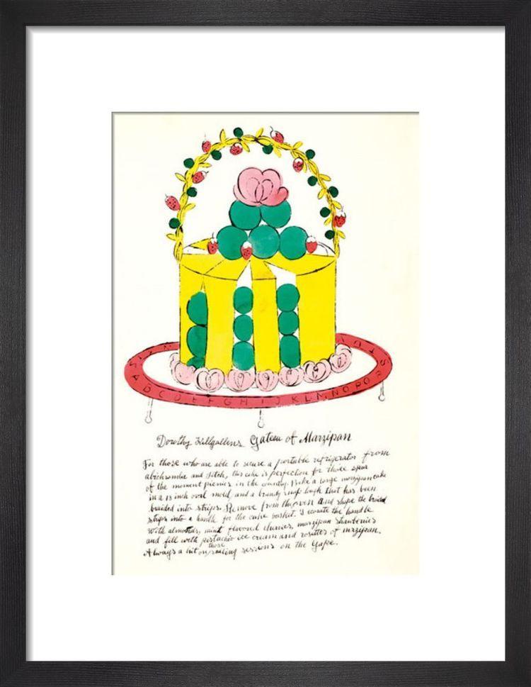 Wild Raspberries, 1959 (yellow & green) by Andy Warhol