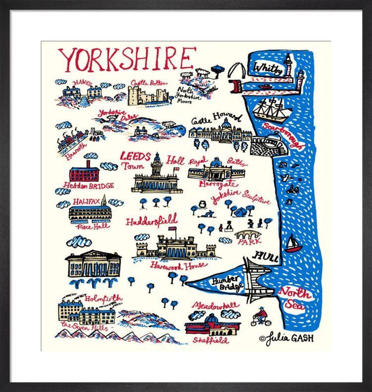 Yorkshire Cityscape by Julia Gash