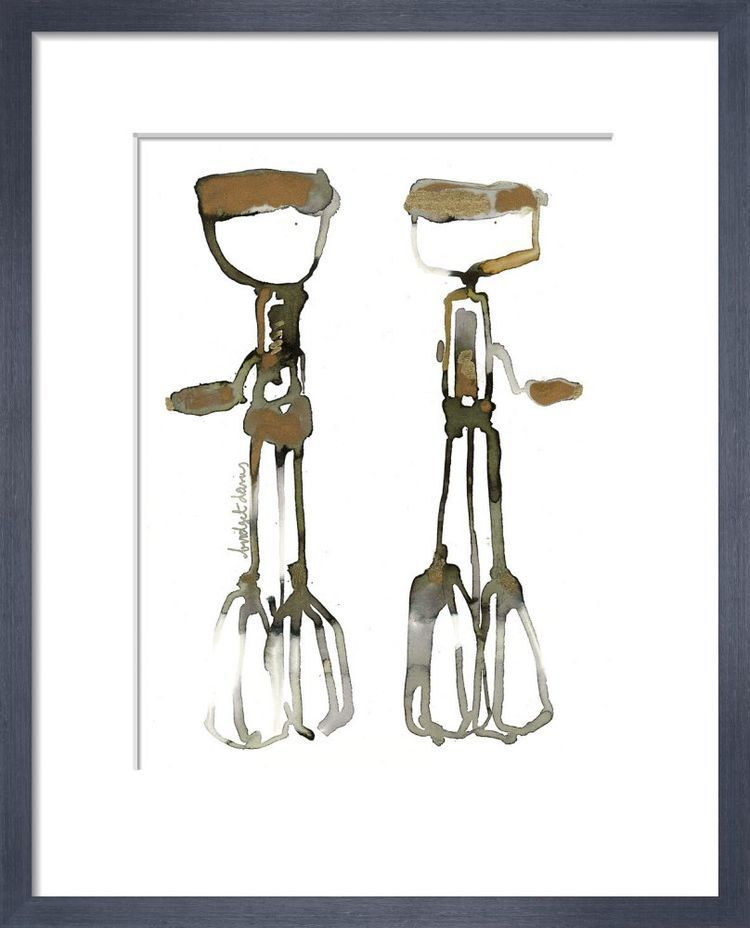 Two Whisks by Bridget Davies