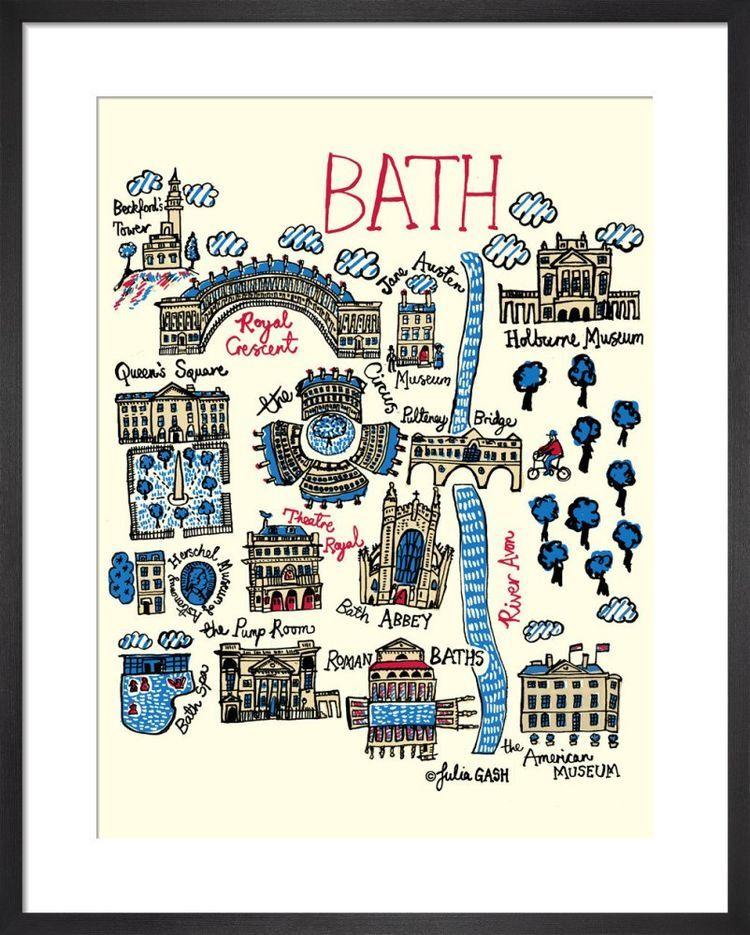 Bath Cityscape by Julia Gash