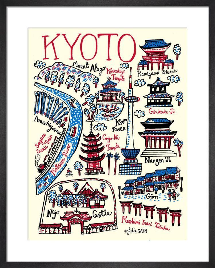 Kyoto Cityscape by Julia Gash