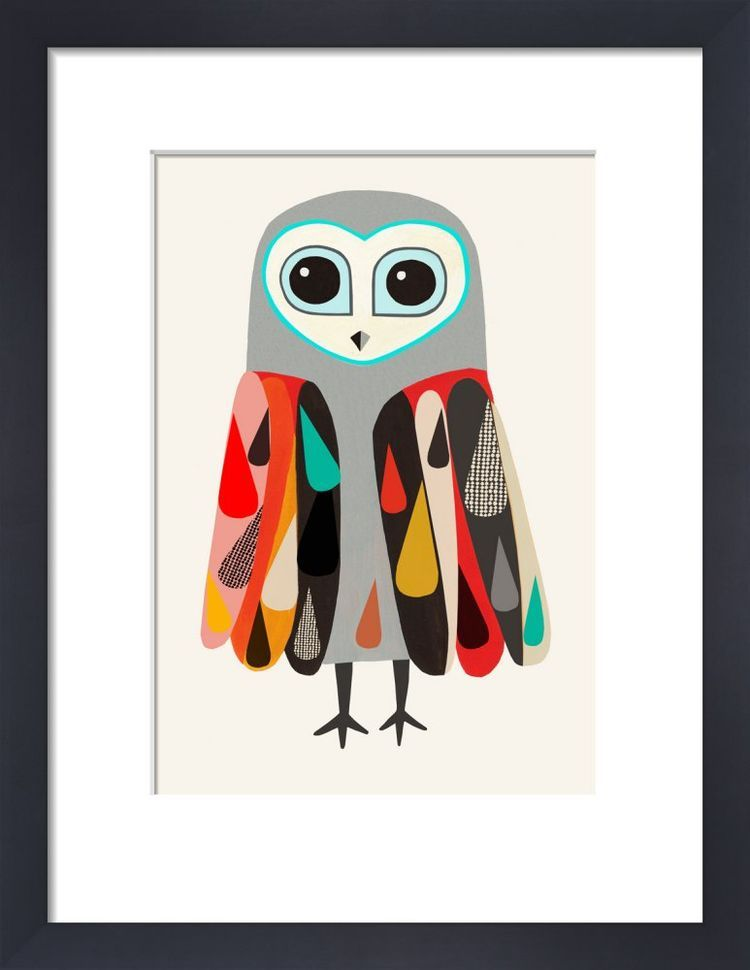 Hootenanny Owl by Inaluxe