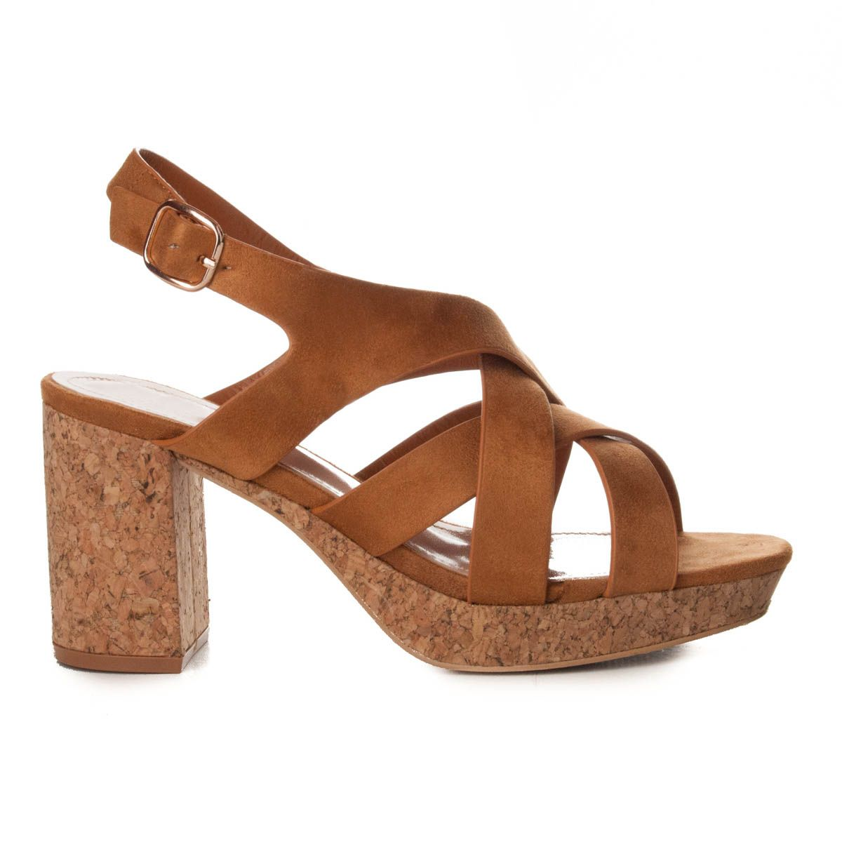 Montevita Platform Sandal in Camel