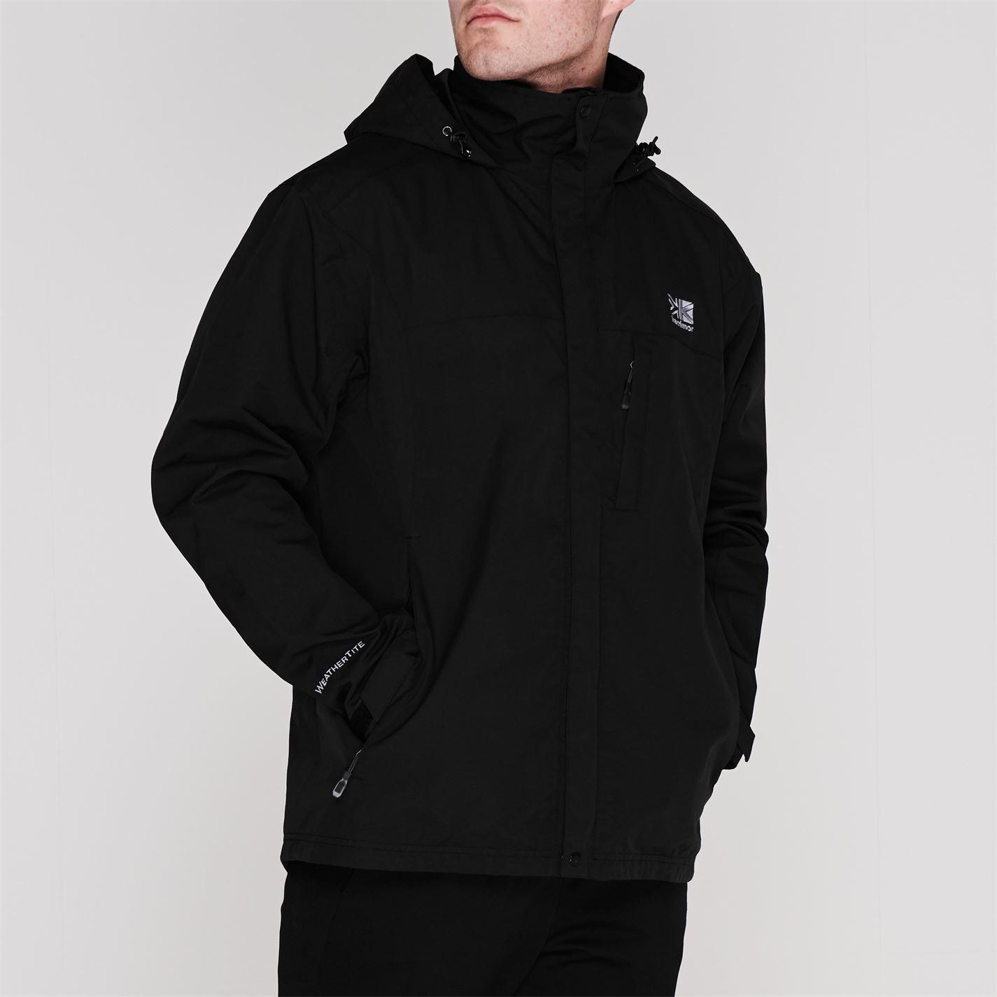 Karrimor Mens Urban Jacket Weathertite Waterproof Foldaway Hood Outdoor