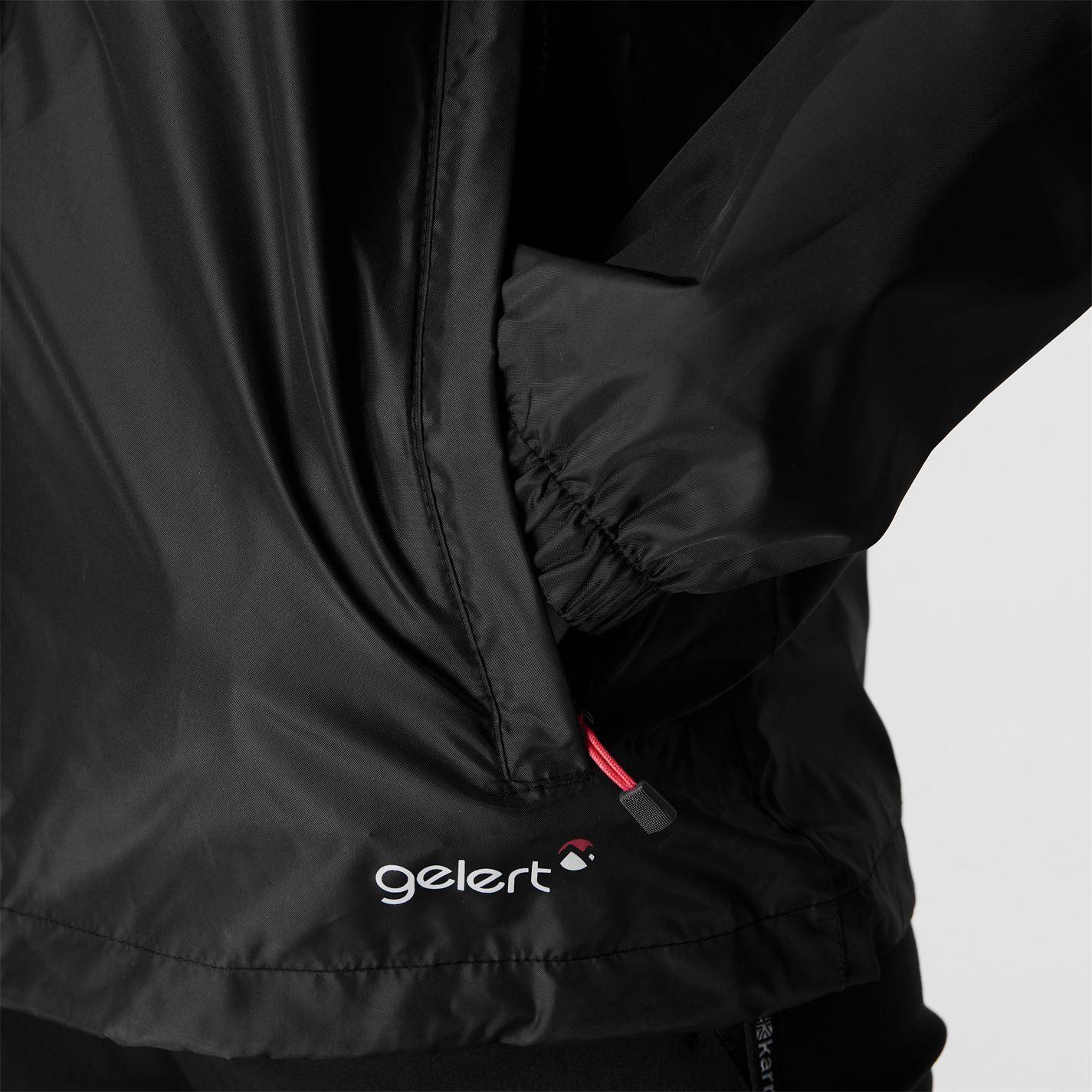 Gelert Womens Ladies Packaway Jacket Outwear Coat Waterproof Full Zip Hood