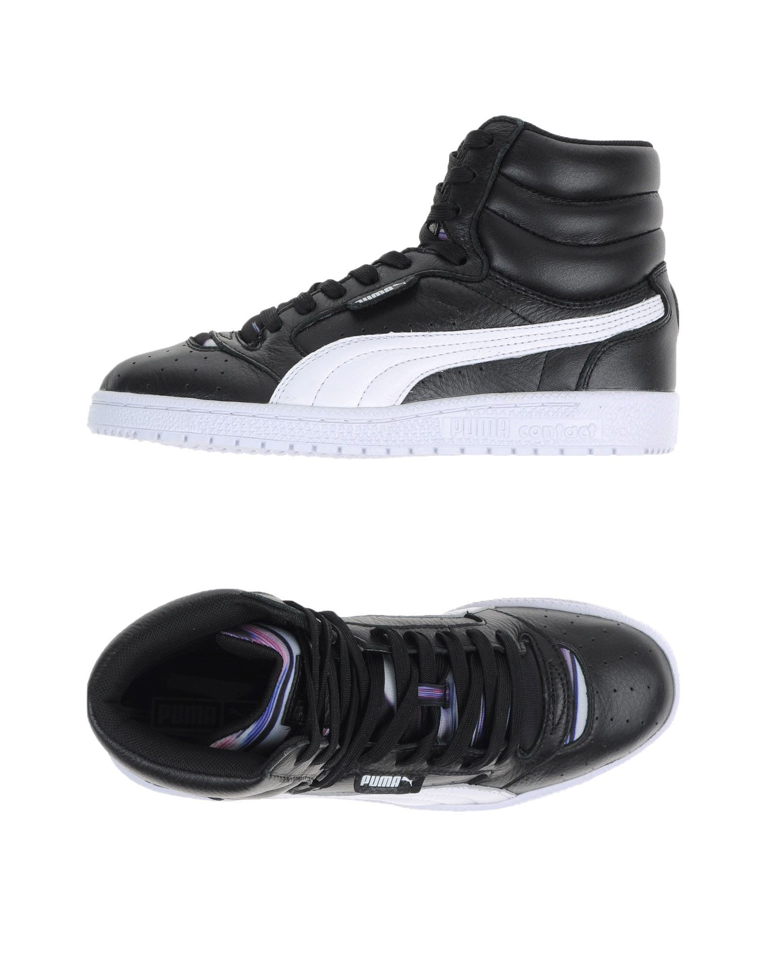 Puma Black Leather High-top & sneakers