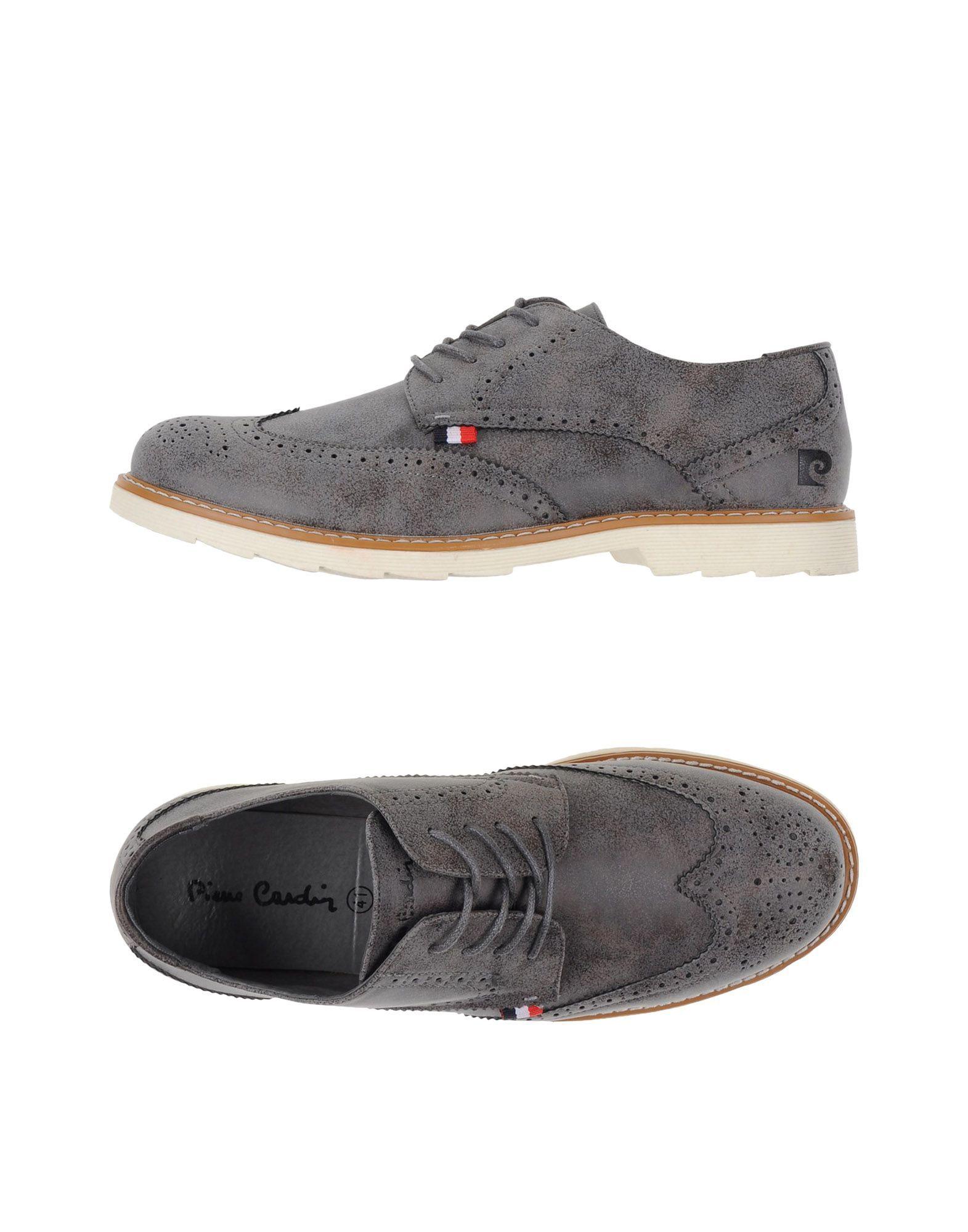 Pierre Cardin Grey Lace Up Shoes