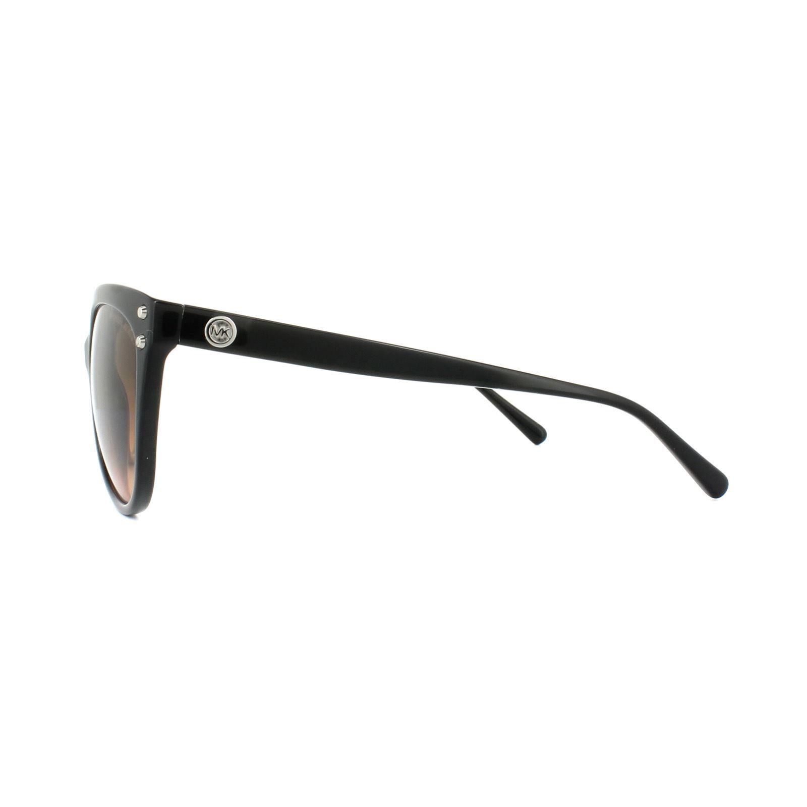 Michael Kors Sunglasses Jan 2045 3177/11 Black Grey Brown Gradient