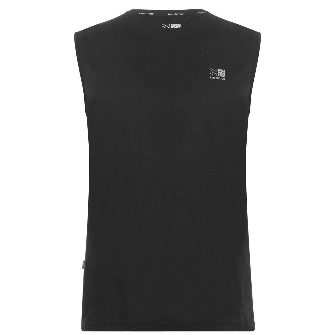 Karrimor Mens Sleeveless Crew Neck Vest Soft Fabric Lightweight T-Shirt Tee Top