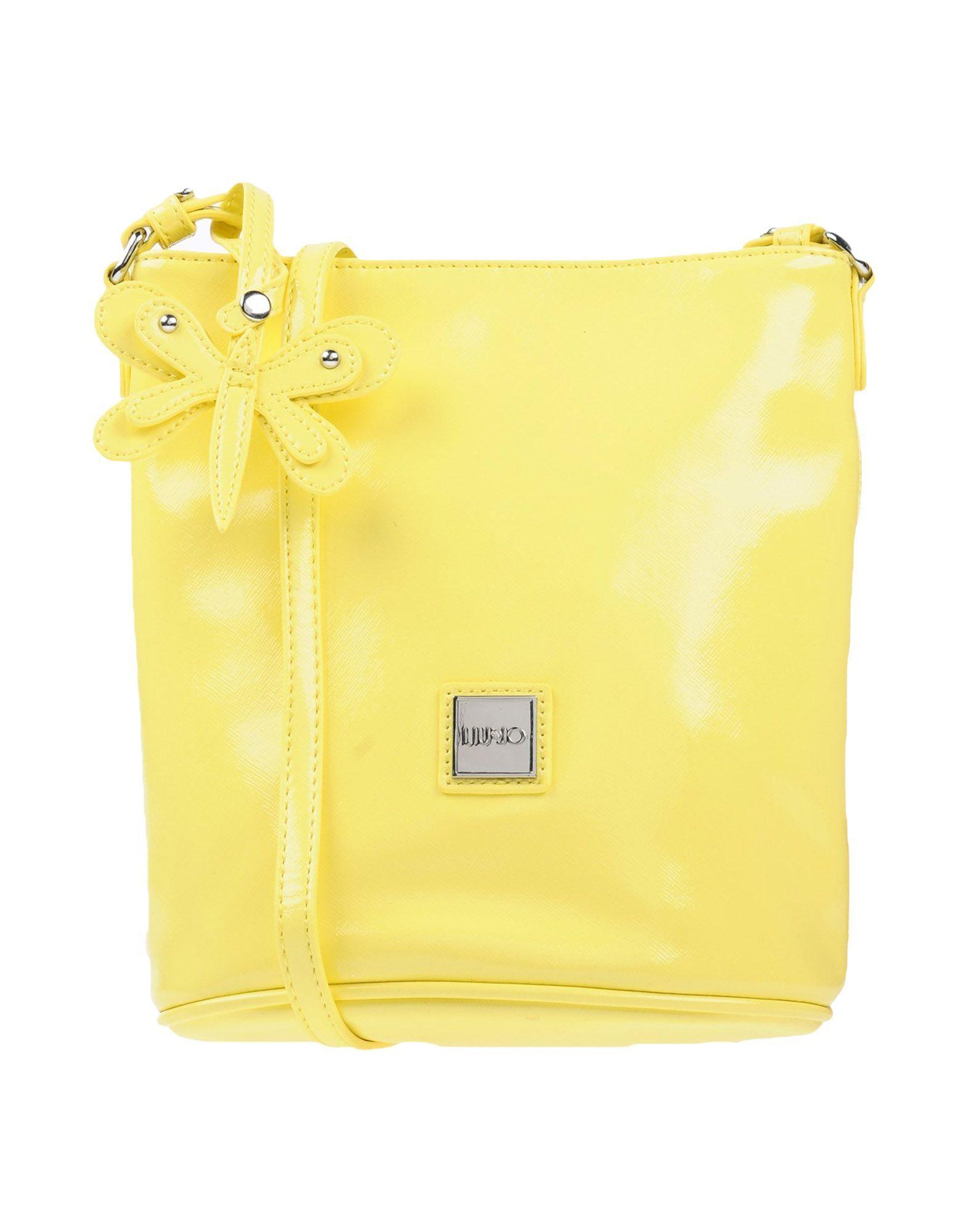 BAGS Girl Liu •Jo Yellow Polyester