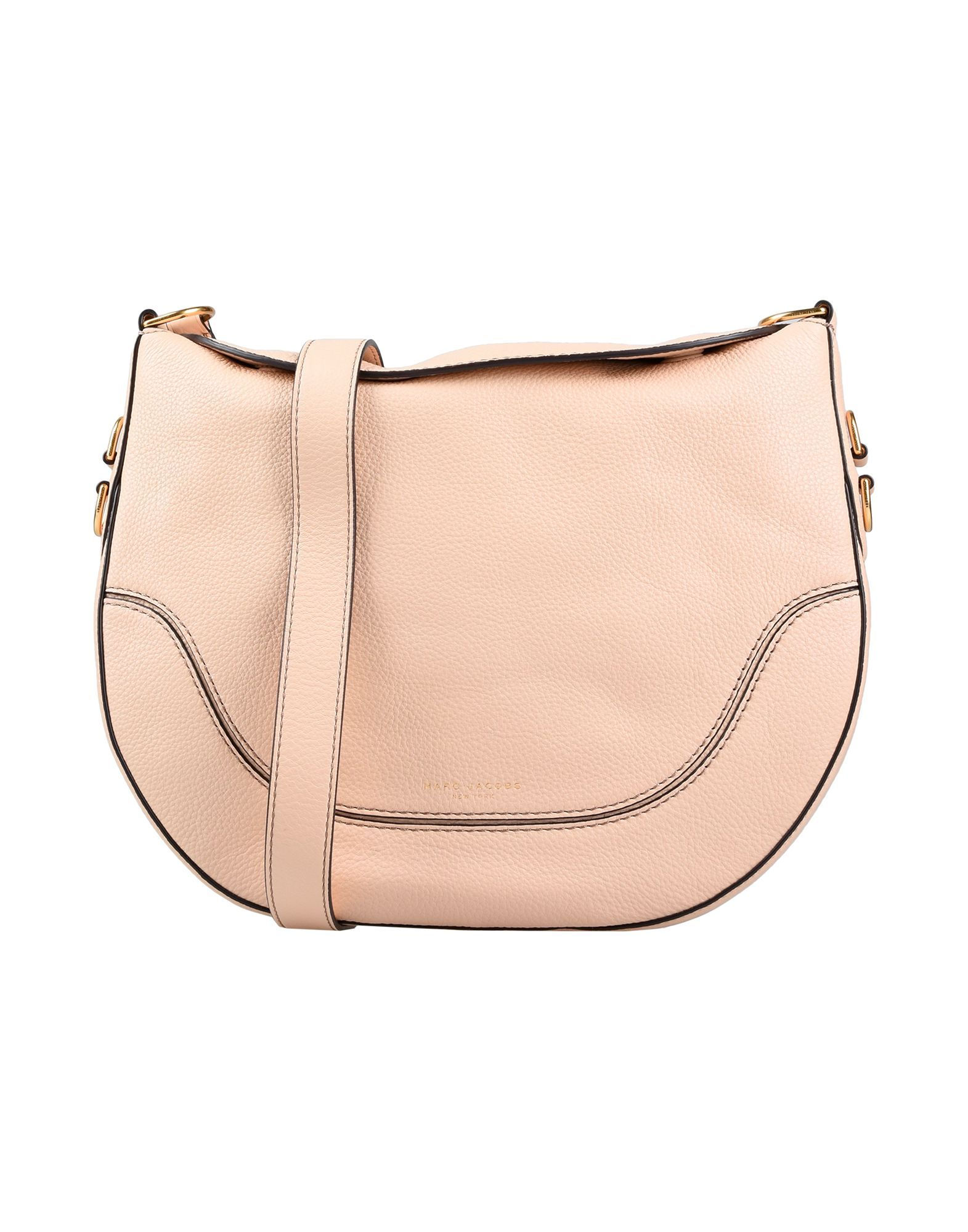 Marc Jacobs Pale Pink Leather Cross Body Bag