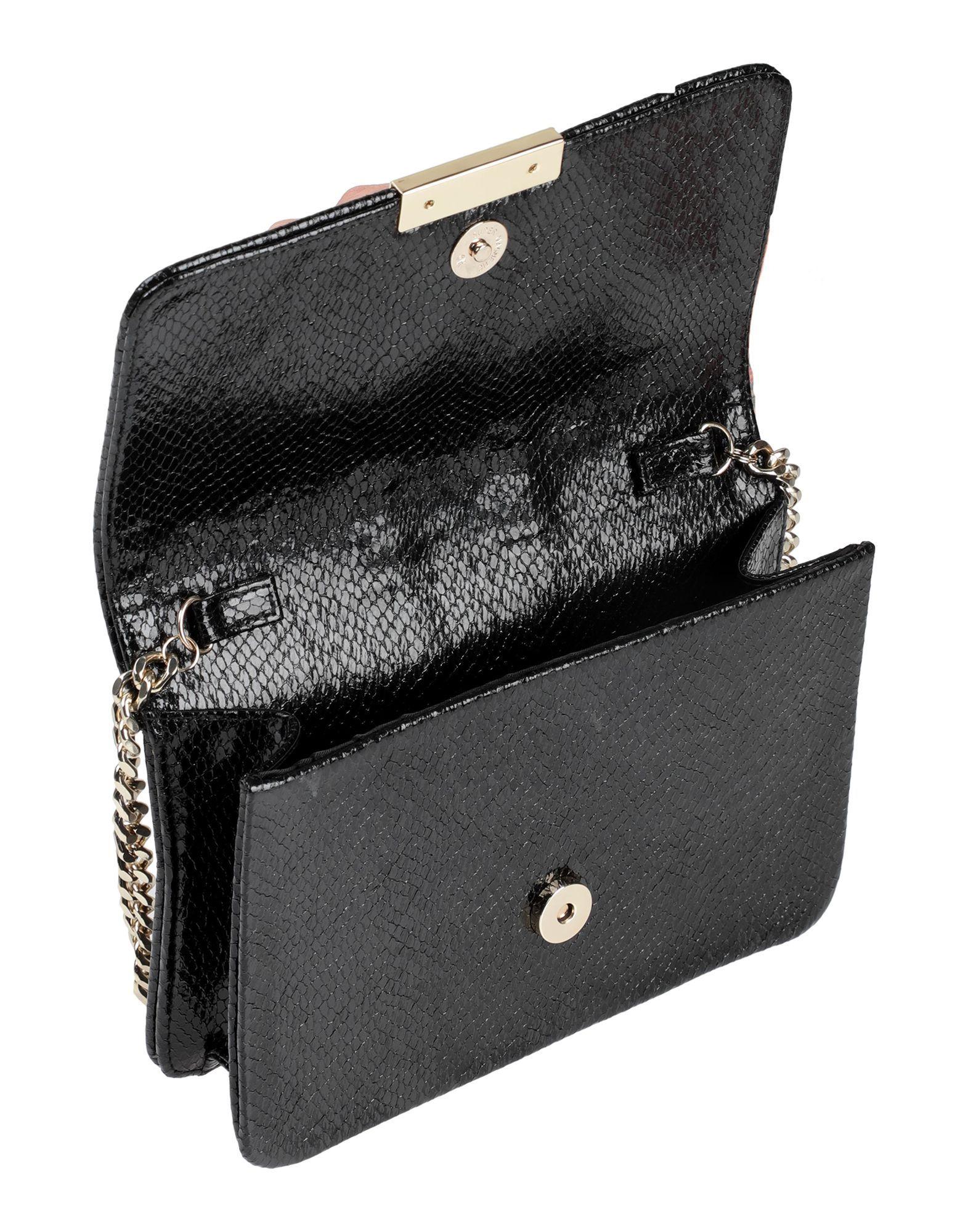 Nenette Black Embellished Cross Body Bag