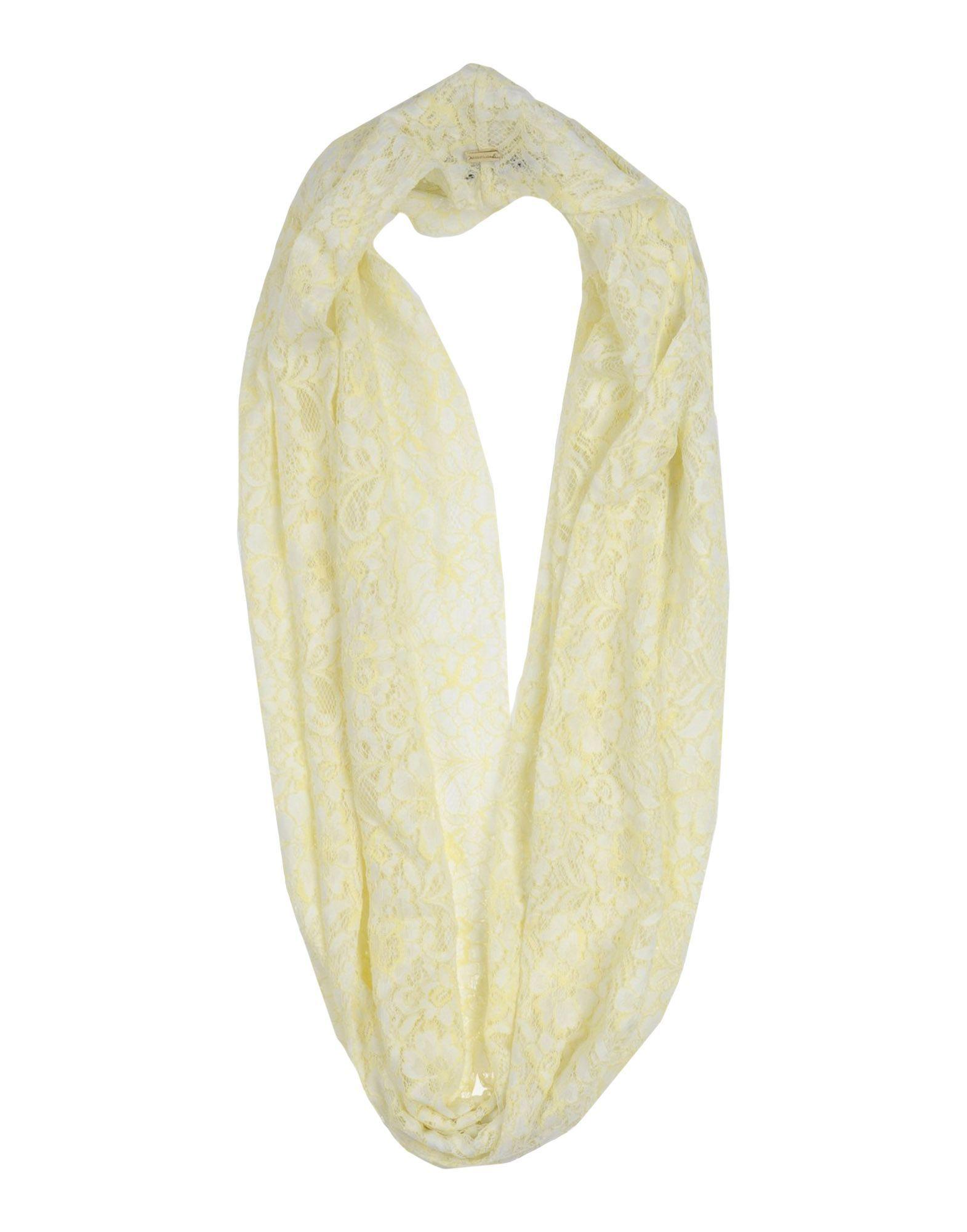 Nenette Women's Collars Light Yellow Polyamid