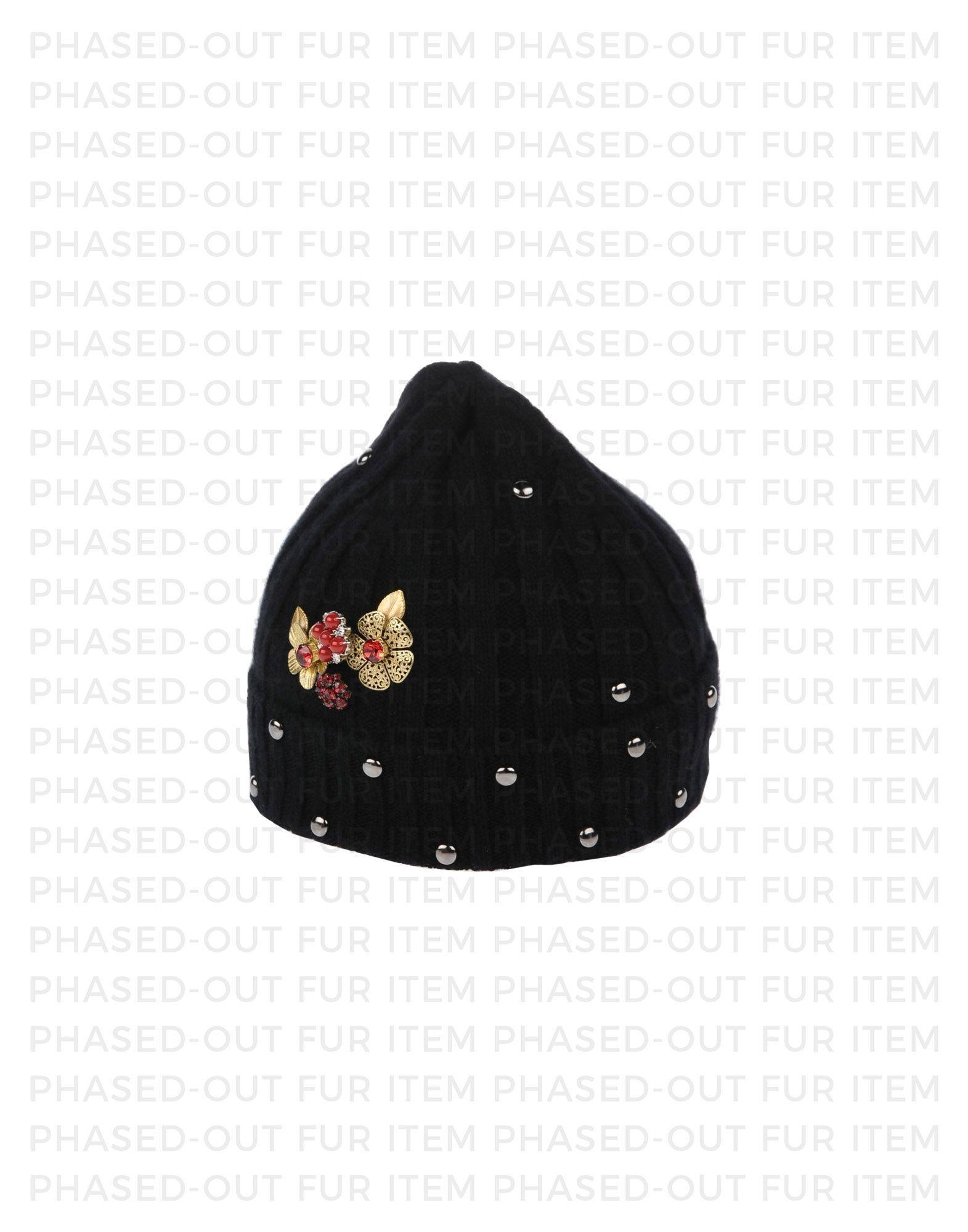 Dolce & Gabbana Black Girls' Cashmere