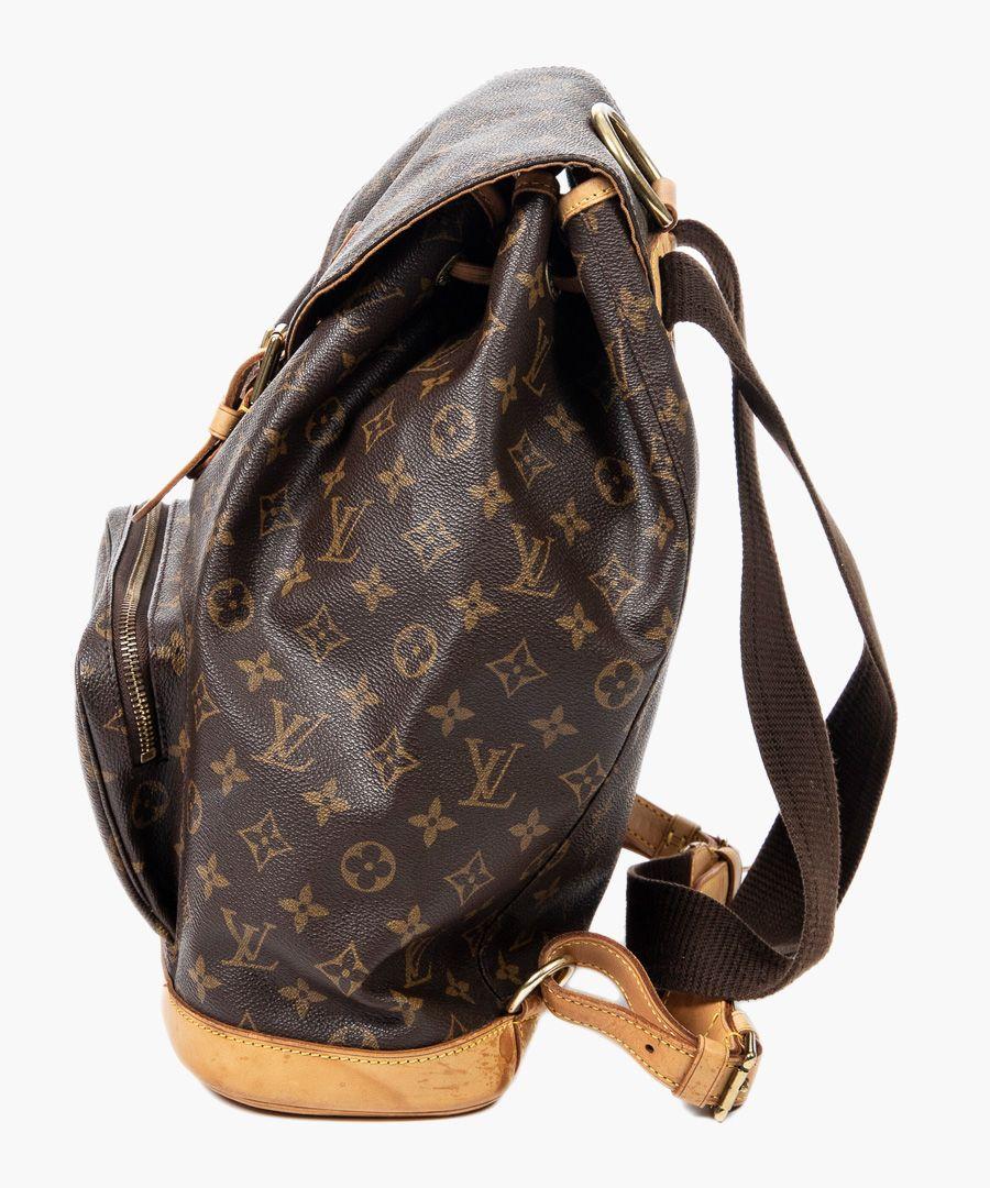 Montsouris brown shoulder bag