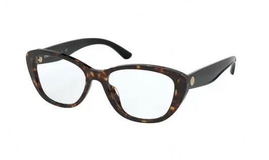 Tory Burch Cat eye plastic Women Eyeglasses Dark Tortoise/Demo lens