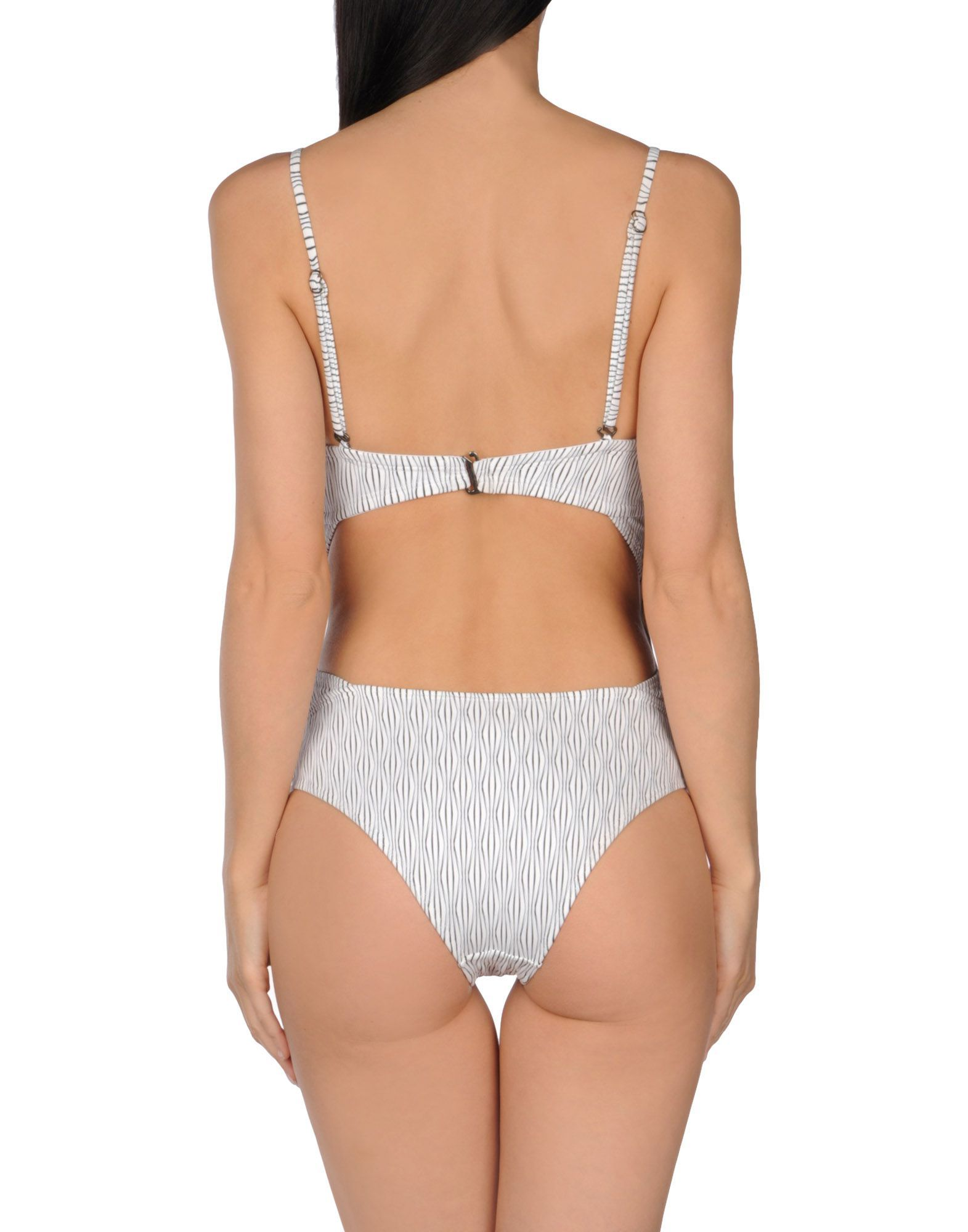 Prism White Cupped Swimsuit