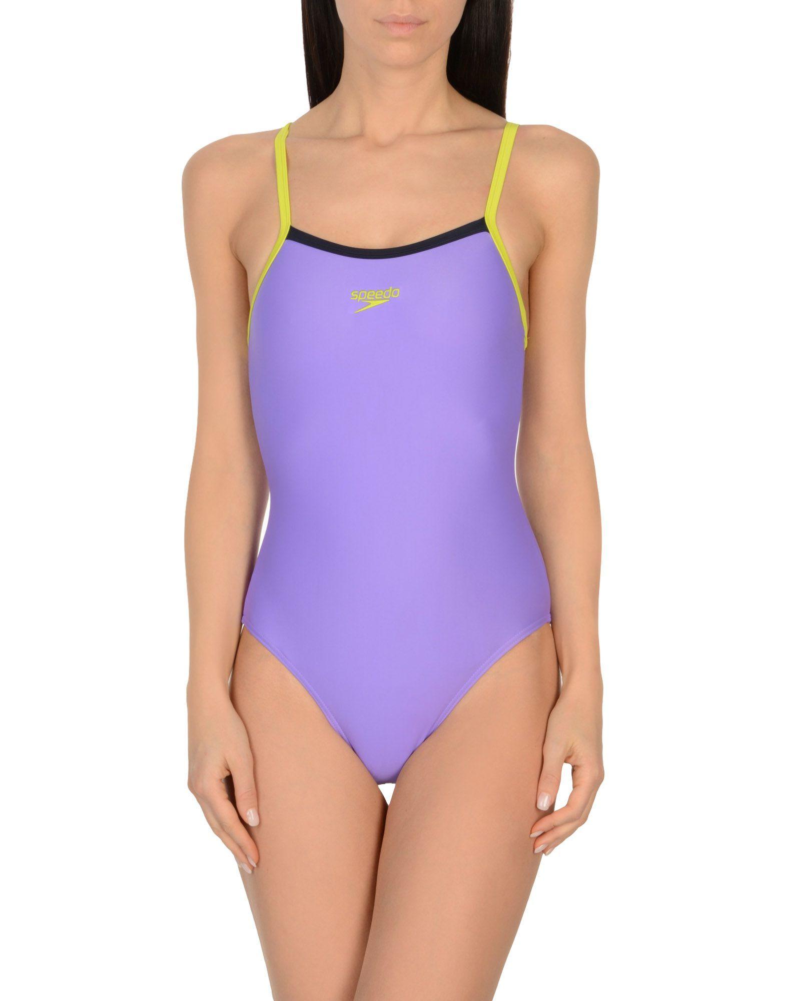 Speedo Purple Swimsuit