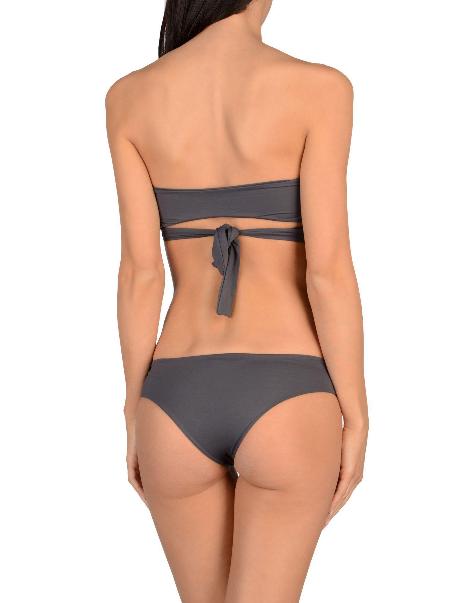 S And S Lead Bandeau Bikini Set