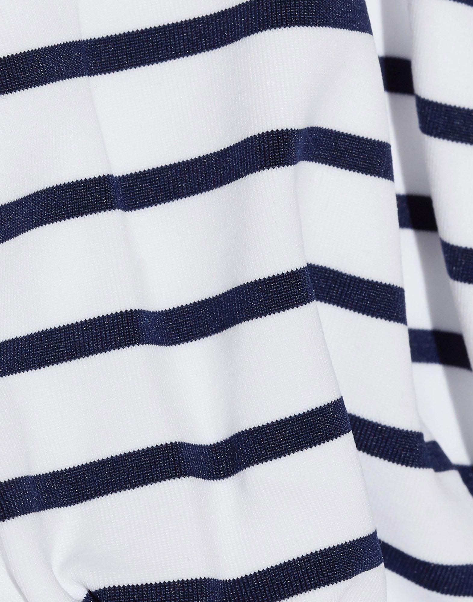 Melissa Odabash Dark Blue Stripe Halterneck Bikini Set