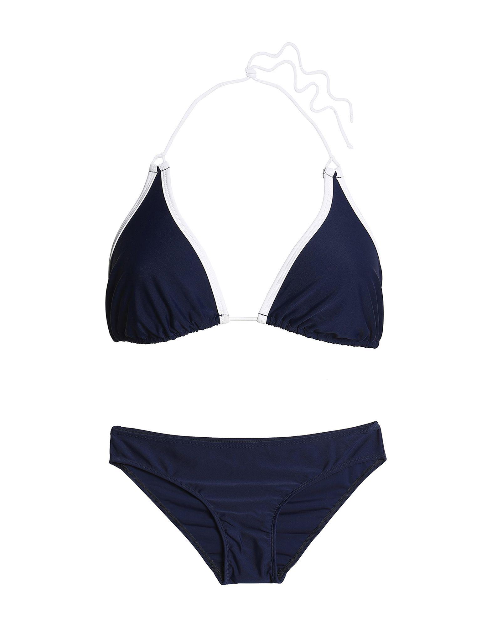 Perfect Moment Dark Blue String Bikini Set