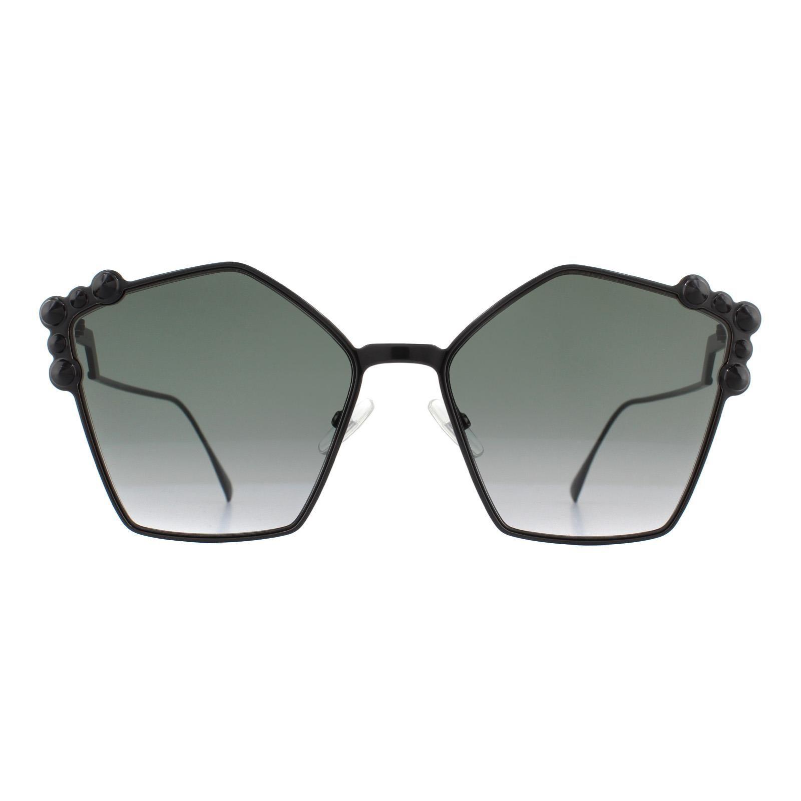 Fendi Sunglasses FF 0261/S 2O5 9O Black Dark Grey Gradient