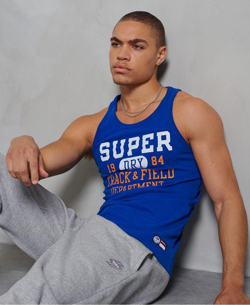 Superdry Track & Field Graphic Vest