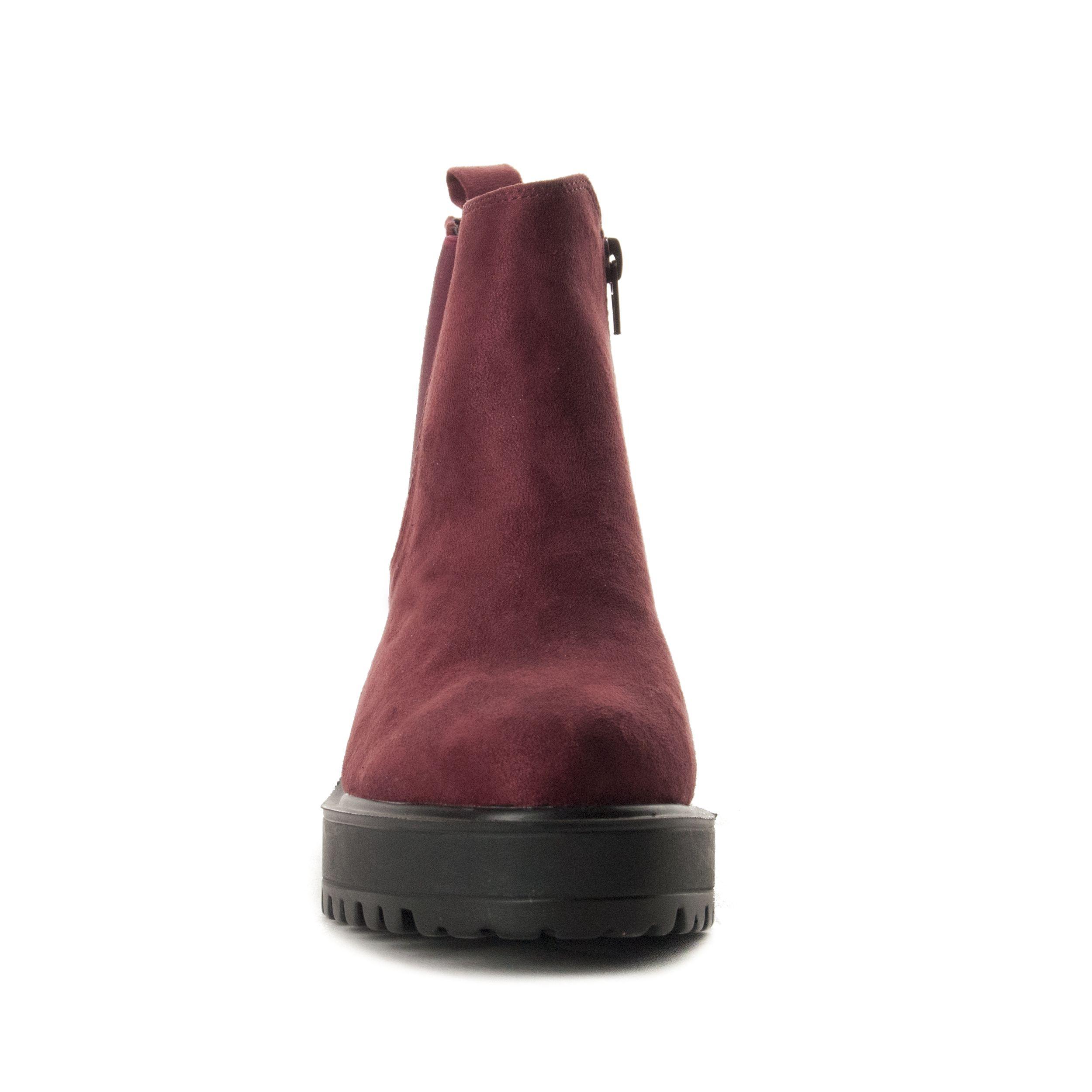 Montevita Chelsea Boot in Bordo