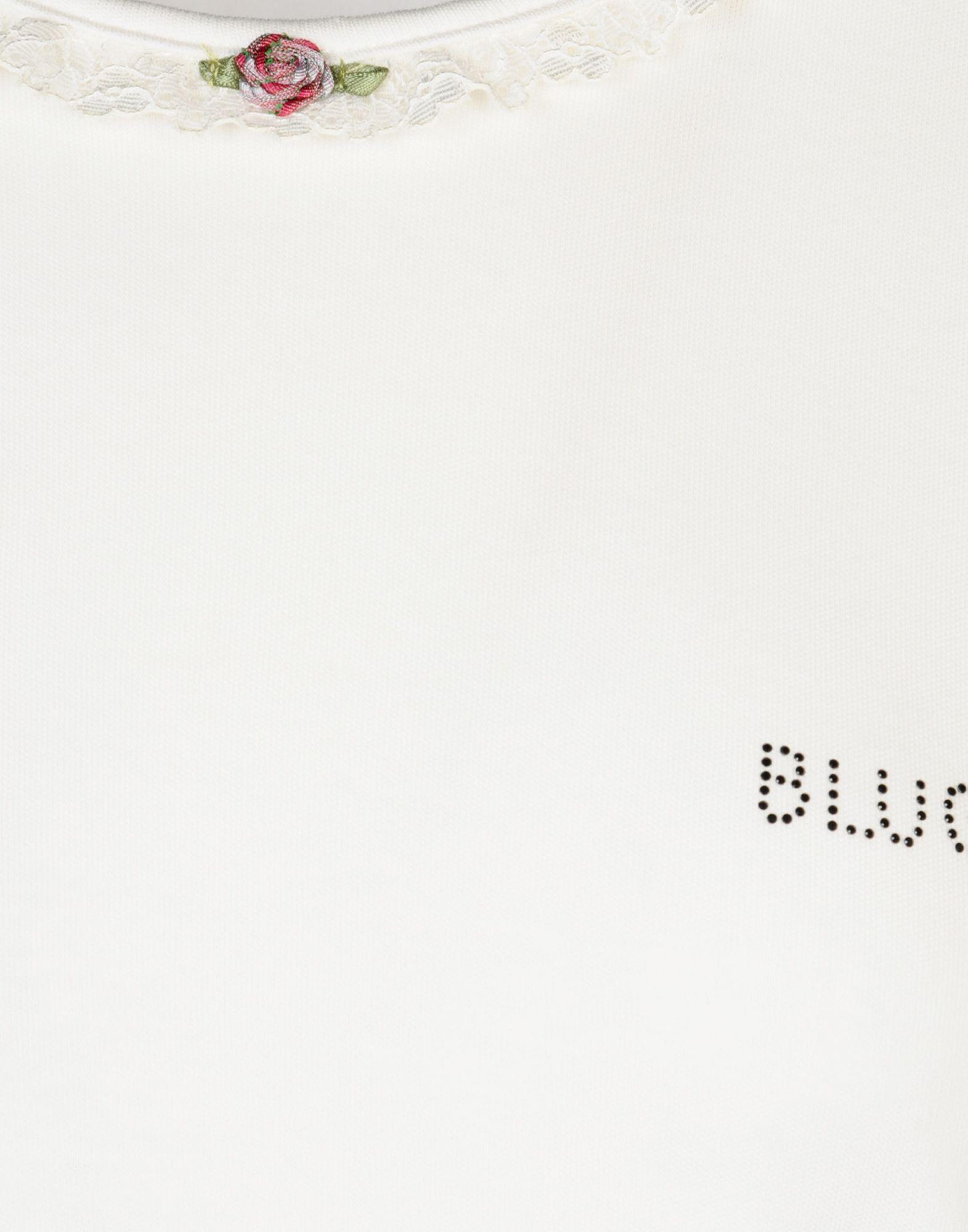 Blugirl Blumarine White Cotton Jersey Pyjama Set