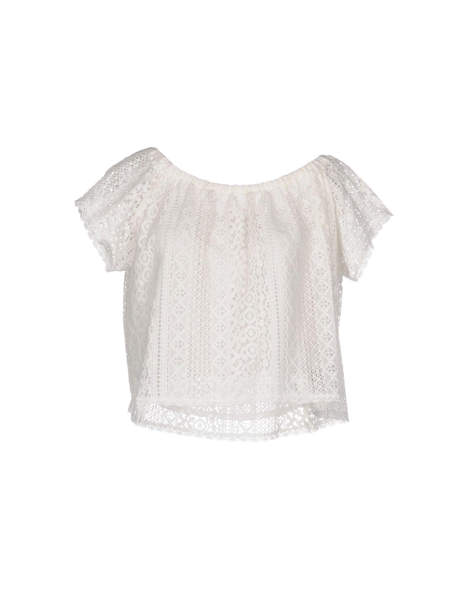 Vivis Ivory Lace Top