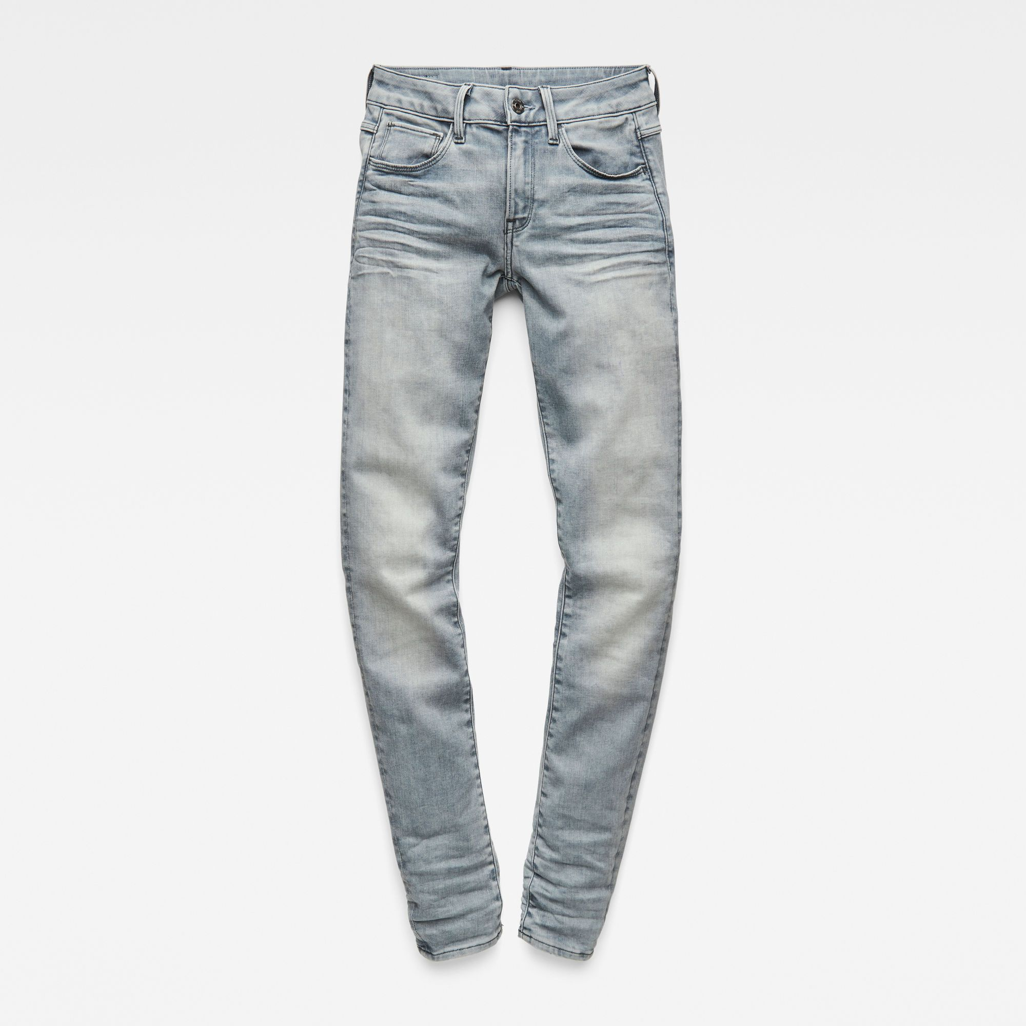 G-Star RAW 3301 Deconstructed Mid Waist Skinny Jeans