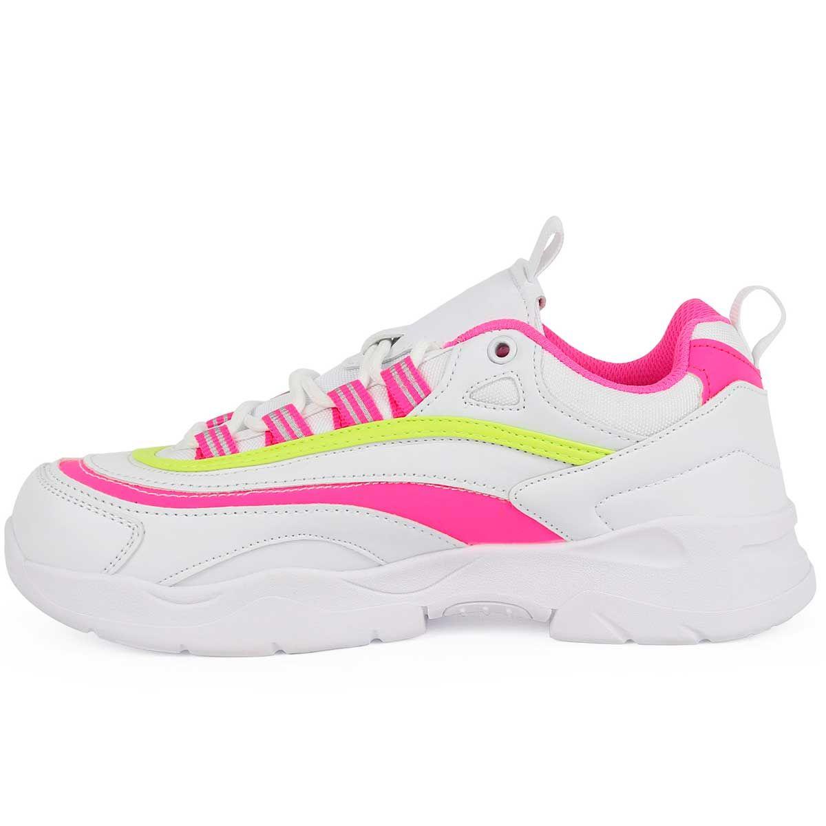Montevita Sporty Sneaker in White