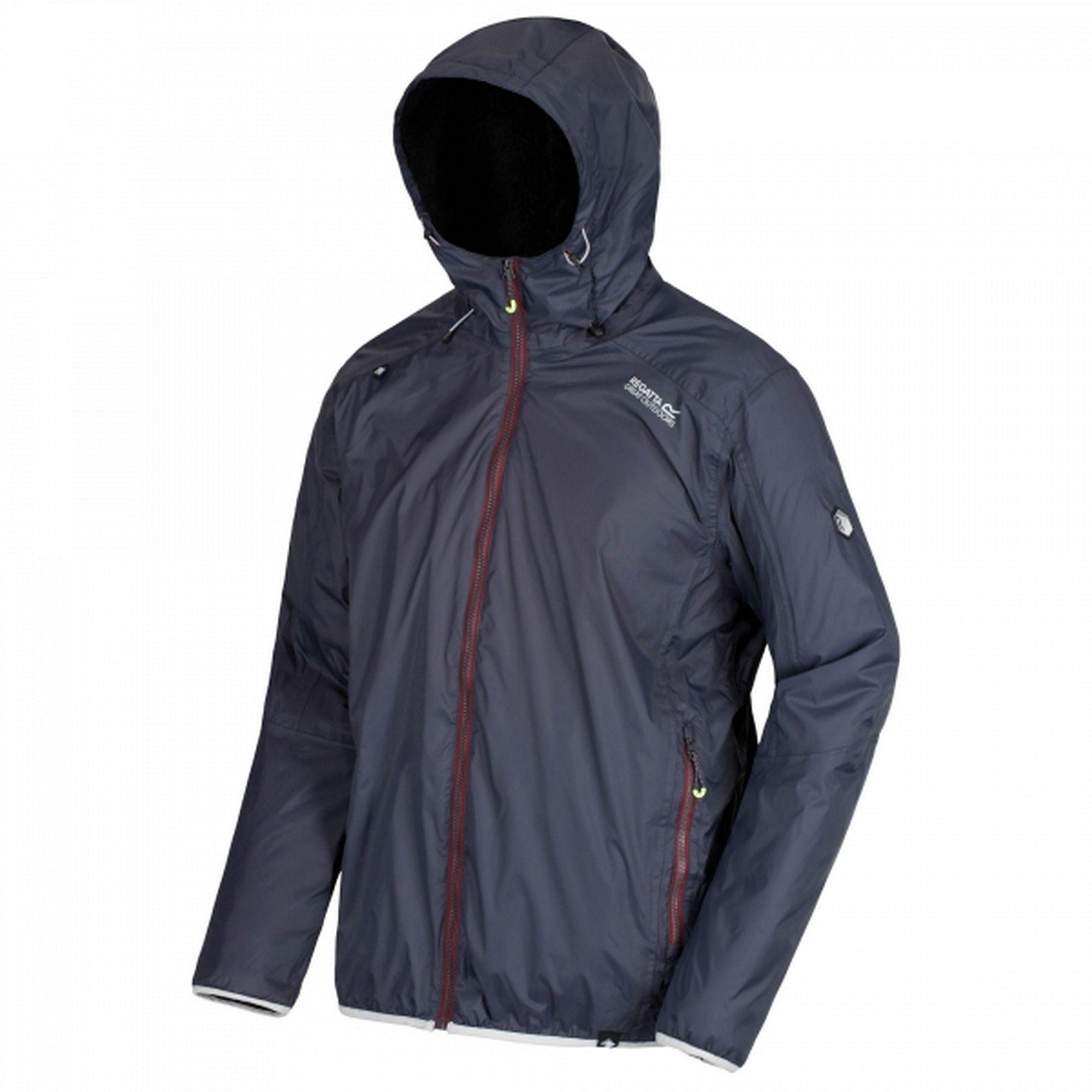 Regatta Mens Tarren Hooded Jacket (Granite Grey)