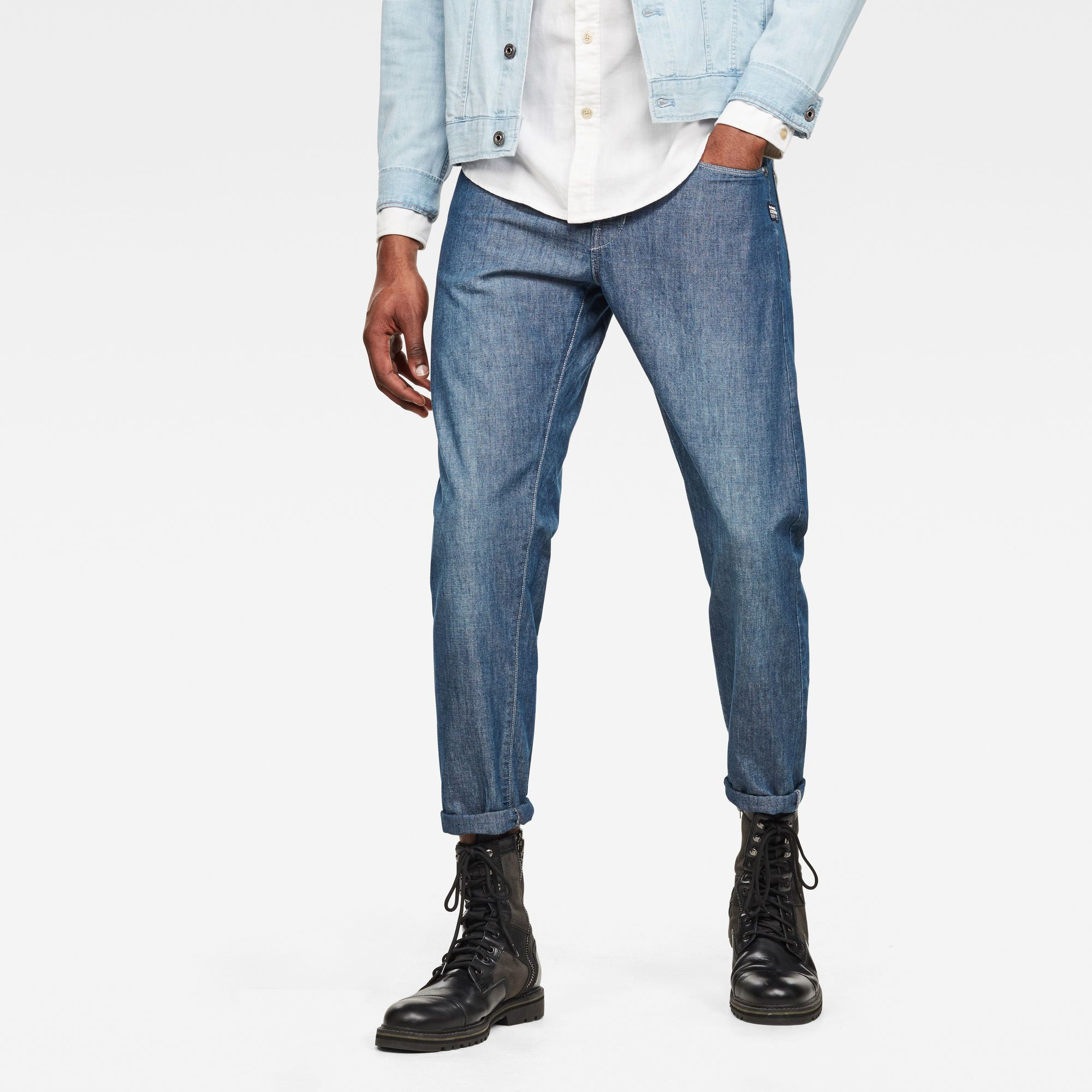 G-Star RAW Loic Relaxed Tapered Jeans