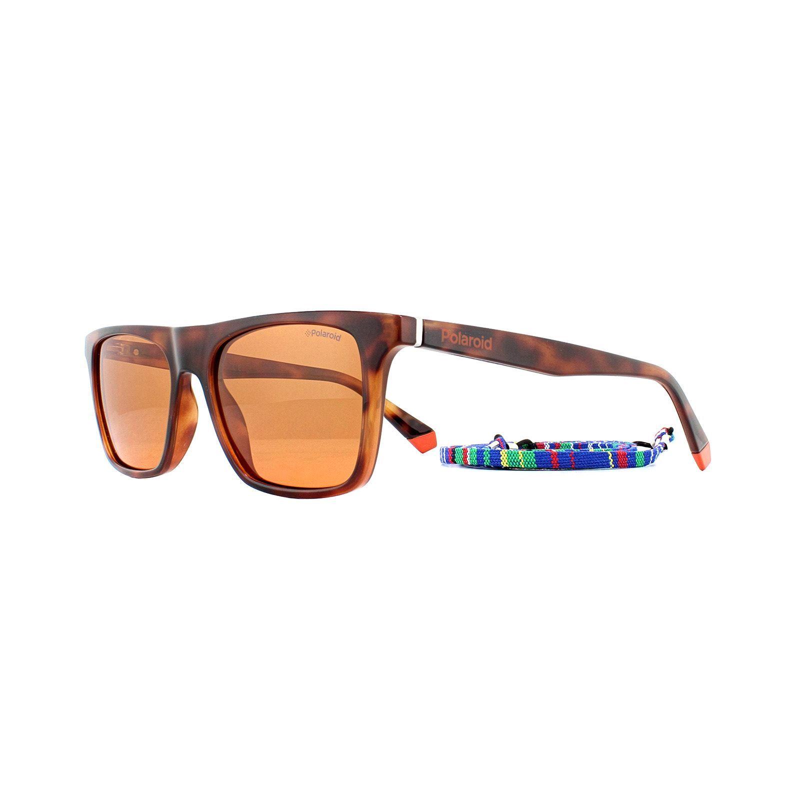 Polaroid Sunglasses 6110/S L9G HE Havana Orange Copper Polarized