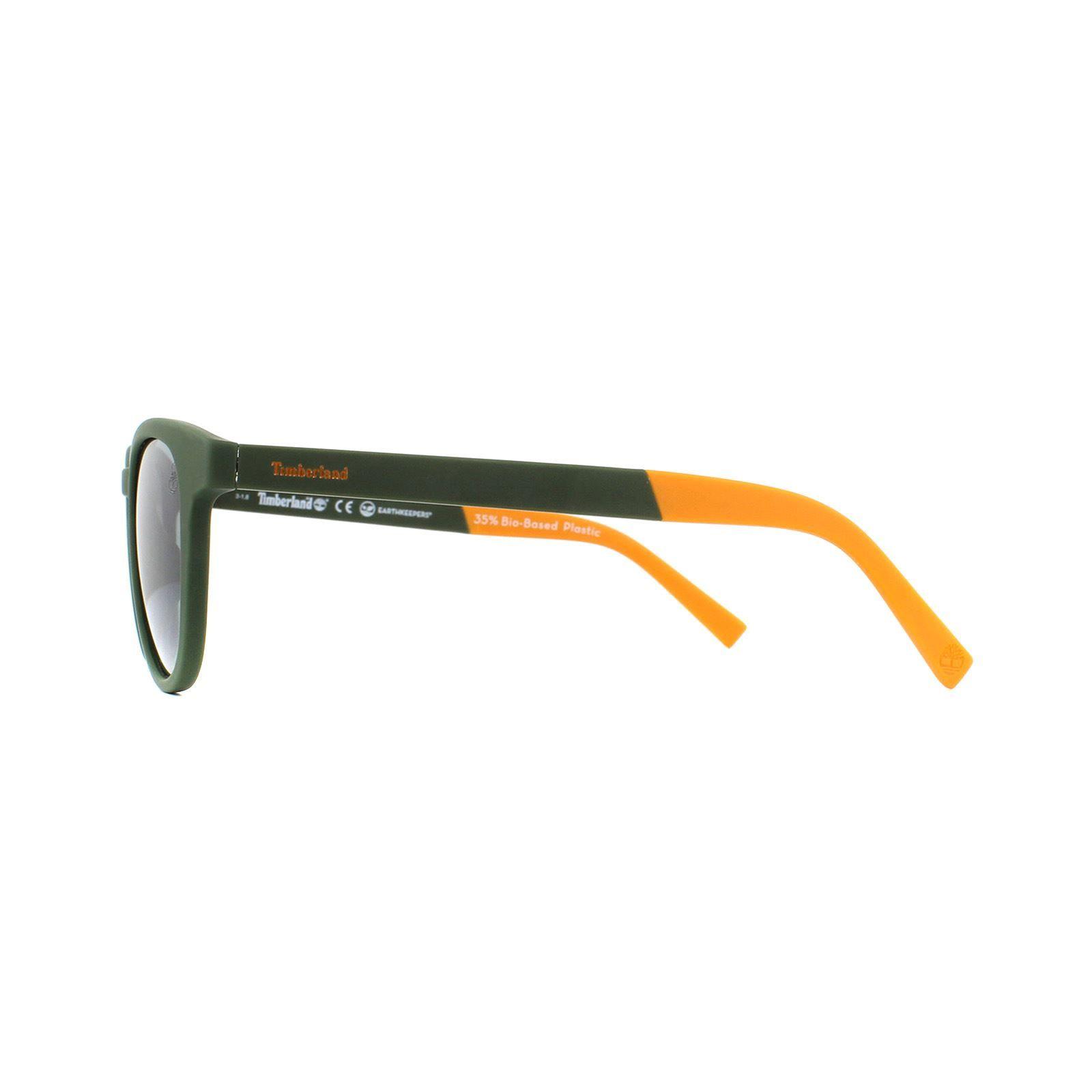Timberland Sunglasses TB9128 97D Dark Green Grey Polarized