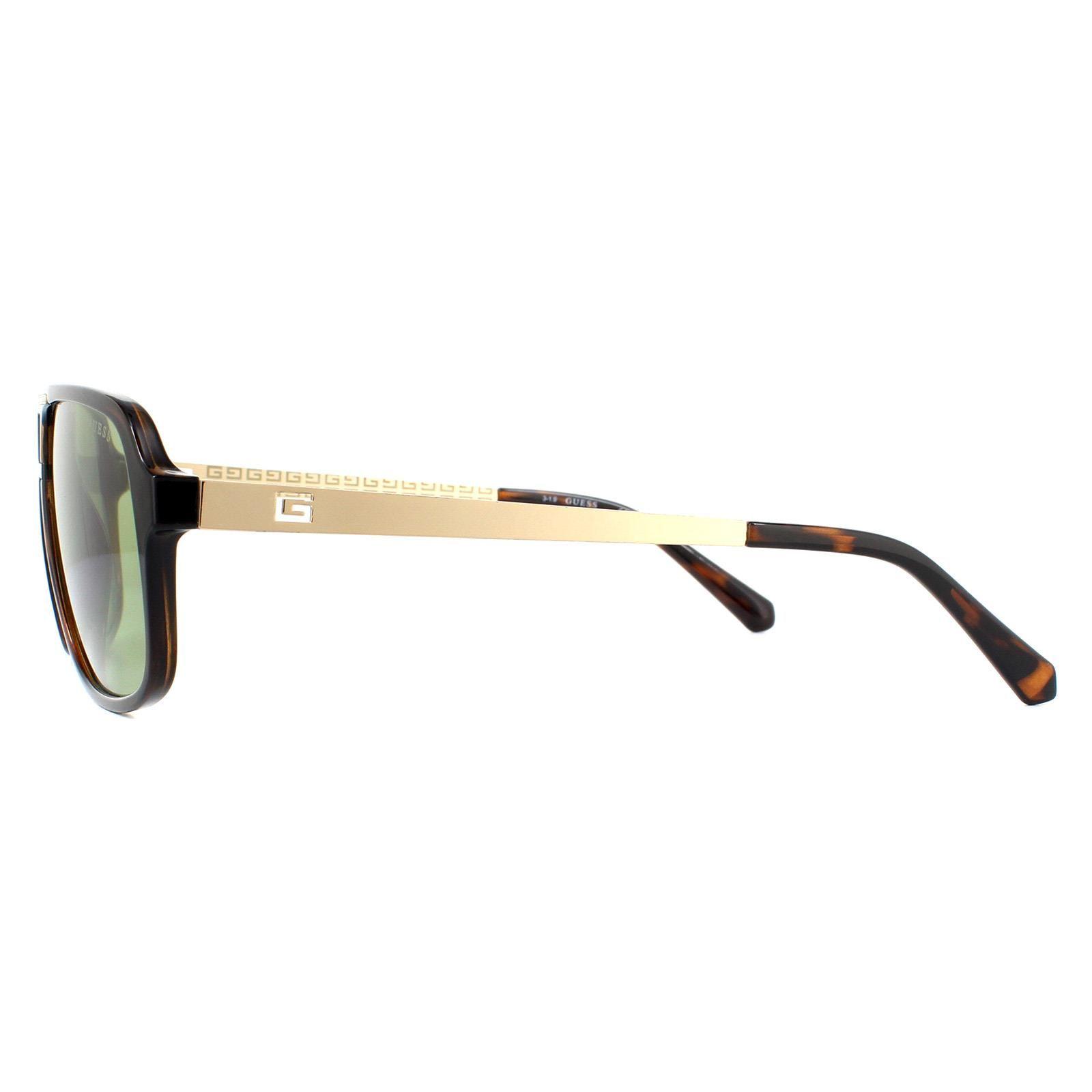 Guess Sunglasses GU6955 52N Dark Havana Green