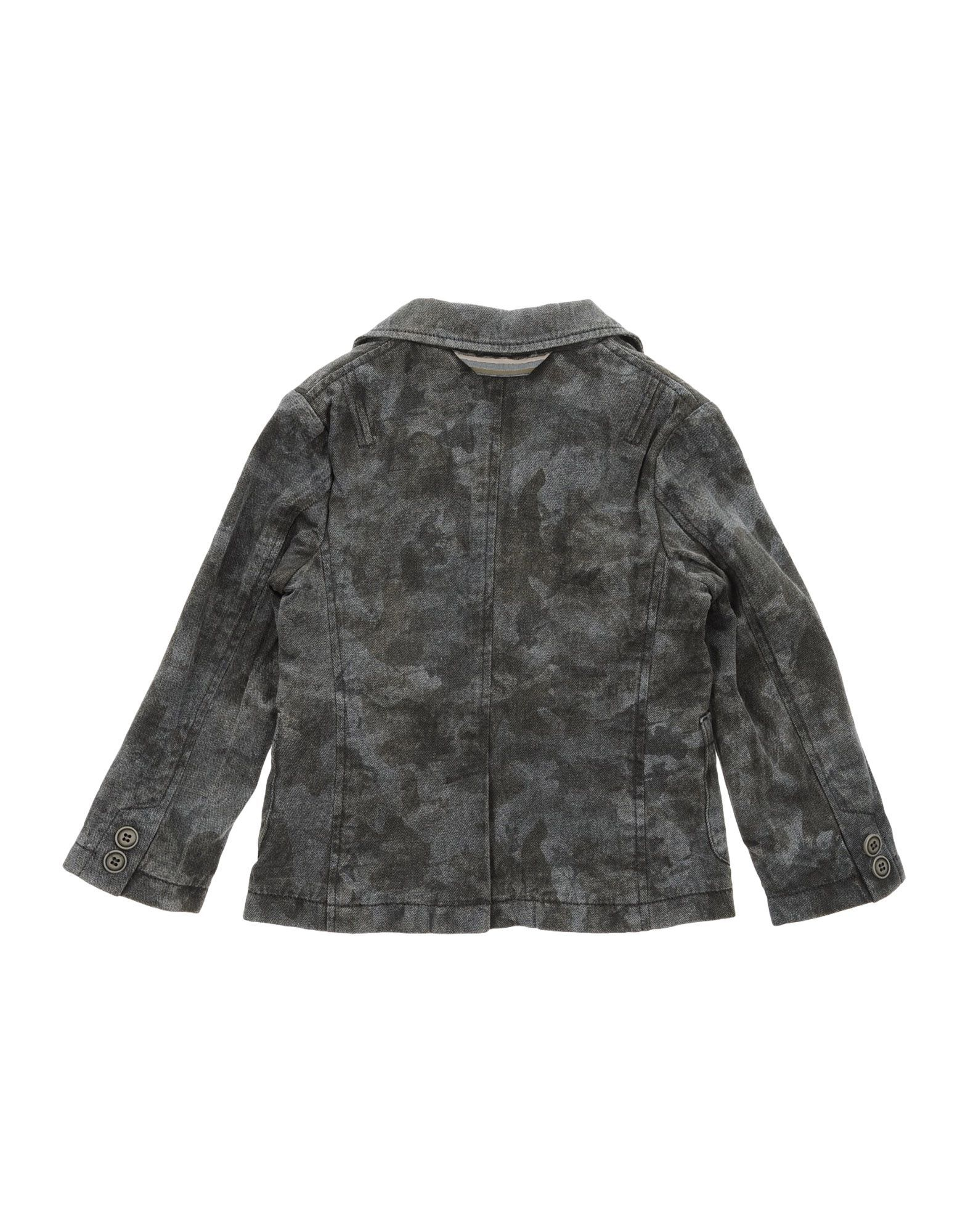 SUITS AND JACKETS Paolo Pecora Steel grey Boy Cotton